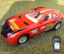 Battery Operated Remote Control Fully-Fun Red Toy Cars