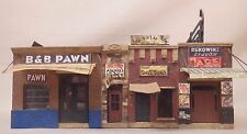 HO SCALE DOWNTOWN DECO ADDAMS ST PART 1 CRAFTSMAN BUILT LAYOUT STRUCTURE #423