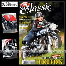 MOTO REVUE CLASSIC N°35 SUZUKI 750 GS TRITON DUCATI 851 NORTON MANX 500 INDIAN