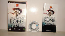 JEU SONY PSP - GREAT BATTLES OF ROME COMPLET