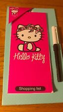 Hello Kitty magnétique shopping list bnwt 1