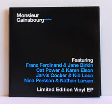 """2 Single 7"""" Monsieur Gainsbourg Revisited Limeted Edition EP REC.M-"""