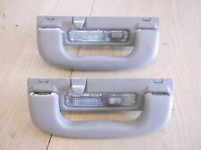 VAUXHALL ASTRA G MK4 REAR INTERIOR GRAB HANDLES WITH LIGHTS X2 1998-2004