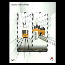 Portugal 2010 - Public Elevators Train S/S - Sc 3220 MNH