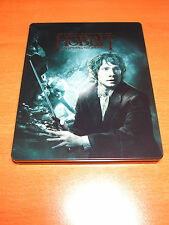 THE HOBBIT : AN UNEXPECTED JOURNEY STEELBOOK ( 2-DISC BLU-RAY + 1-DISC DVD ) SET