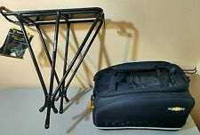 Topeak MTX Bicycle Trunk Bag EXP & Explorer Rack Combo with Quick Track System