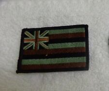 ARMY PATCH, HAWAII STATE FLAG, ACU WITH VELCR