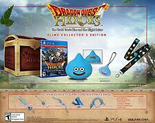 Playstation 4 PS4 Dragon Quest Heroes Slime Collector's Edition Brand New Sealed