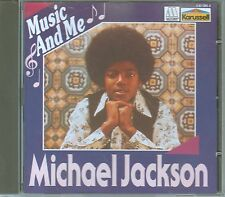 Michael Jackson CD MUSIC AND ME /  RARE KARUSSELL PRESSUNG