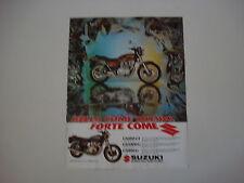advertising Pubblicità 1981 MOTO SUZUKI GS 650 GT