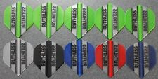 10 Packets of Brand New Ruthless  Darts Flights - 'Essentials 7' pack.