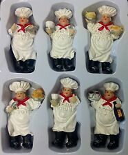 Set   Fat Chef Magnet Kitchen decor home refrigerator bistro Bar fridge gift