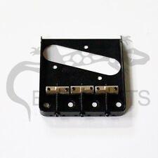 NEW Wilkinson Telecaster BRIDGE Black for Fender Tele Guitar Brass Saddle #79