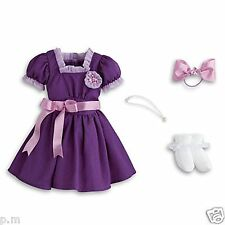 American Girl Emilys Holiday Outfit Dress Necklace Bow Socks for Doll NEW Molly