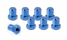VMS RACING BILLET ALUMINUM BLUE B16 B18 VTEC VALVE COVER NUTS BOLTS HEAD 8 PCS