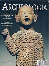 ARCHEOLOGIA N° 258--SOUDAN KERMA/ART PRECOLOMBIEN/VIE DES PELERINS SAINT JACQUES
