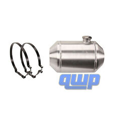 5 Gallon 16 x 10 End Fill Spun Aluminum Gas Tank - Off-road / Tractor Pull