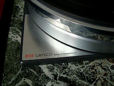 Lenco B55, L75, L78  Platter Stacking Spindle Adapter. Long Stainless Steel.