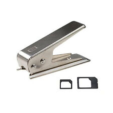 Micro/Standard to Nano SIM Card Cutter For Apple iPhone 5 5G 5th + 2 Adapters