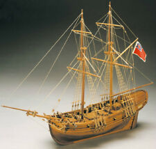 """Exquisitely detailed, brand new Mantua wooden ship kit: the """"Shine""""     (mn#777)"""