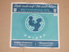 """DER BERLINER KINDERCHOR & HILDEGARD KNEF Split 7"""" 45"""