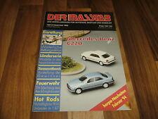 Der Masstab 6/1993 -- Magazin für Autofans / Feuerwehr Recklinghausen / Hot Rods