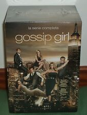GOSSIP GIRL-LA SERIE COMPLETA-1-6 TEMPORADAS-30 DVD-NUEVO-PRECINTADO-NEW-SEALED