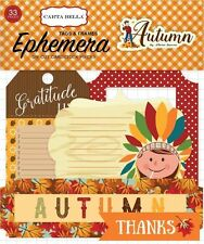 "CARTA BELLA ""AUTUMN"" EPHEMERA DIE CUT PIECES - TAGS & FRAMES SCRAPJACK'S PLACE"