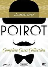Agatha Christie's Poirot: Complete Cases Collection,DVD 33 DISC SET, FREE SHIPPI