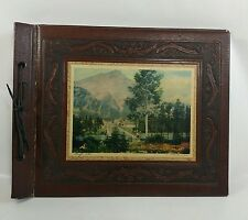 Vtg Stovel Photo Album Book Banff Alberta Canada Rocky Mountains Picture Cover