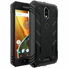 POETIC Revolution Premium Rugged Case For Motorola Moto G4 (2016) Black