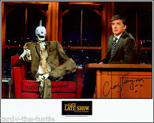 The Late Late Show with Craig Ferguson  8 x 10 Autograph Reprint  Geoff Peterson
