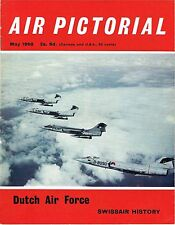 AIR PICTORIAL MAY 68: ROYAL DUTCH AIR FORCE/BOEING 737/SOUTHEND AIRPORT/SWISSAIR