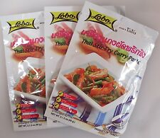 Lobo sautés Pâte de Curry 60g Pack goût authentique de Thai-world wide shipping