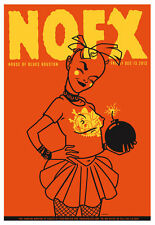 Scrojo NOFX House of Blues Houston Texas 2013 Poster NOFX_1312