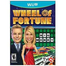 WII U WHEEL OF FORTUNE BRAND NEW FACTORY SEALED VIDEO GAME