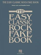 The Easy Classic Rock Fake Book Sheet Music Melody Lyrics & Simplified 000240389
