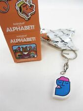 Kidrobot Alphabet Keychain Collection - blue Y  Y is for YUM- Mike Davis 2009