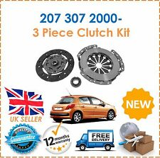 For Peugeot 207 307 1.4 8 Valve 2000- 3 Piece Clutch Kit NEW Good OE Quality!
