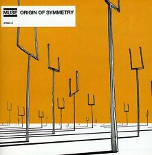 Origin Of Symmetry - Muse (2005, CD NEUF)