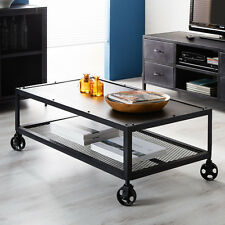 Coffee Table on wheels Indian Furniture M01