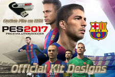 PES 2017 Option File on USB -Official Kits & Logos Pro Evolution Playstation PS4
