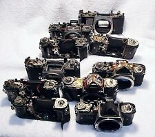 10 Pentax 35mm Parts Camera Bodies suitable Materials for making sculpture