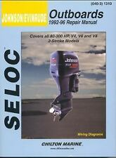 Marine Tune-Up and Repair Manuals: Seloc's Johnson/Evinrude Outboard Tune-Up...