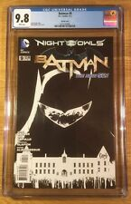 Batman 9, 1:200 sketch cover New 52, CGC 9.8, graded NM/MT