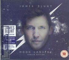 CD + DVD SET JAMES BLUNT MOON LANDING APOLLO EDITION SEALED NEW 2014
