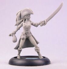 Meagan the Buccaneer BOM10001 Bombshell Miniatures Babes Series 32mm Pewter D&D