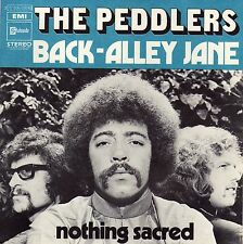 """THE PEDDLERS BACK-ALLEY JANE / NOTHING SACRED FRENCH 45 PS 7"""""""