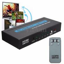5 Port 4K 3D 1080P Video HDMI Splitter Switch Switcher HUB For HDTV SKY Box PS3