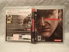 Metal Gear Solid 4: Guns of the Patriots (Sony PlayStation 3) Complete, tested